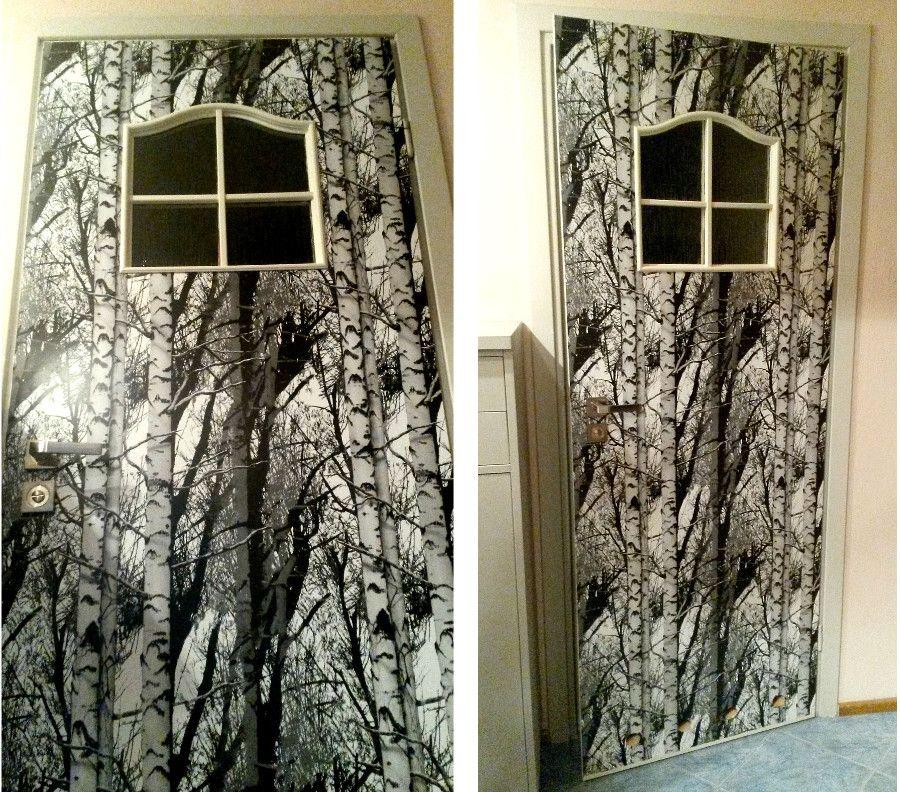 Oklejanie drzwi najszybsza renowacja w moim życiu
