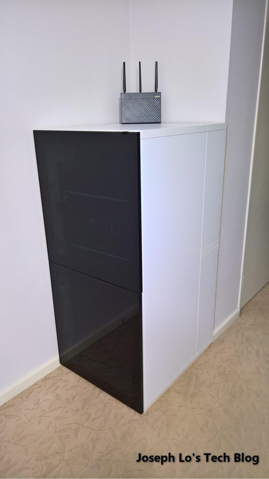 Diy Server Cabinet Using Ikea Parts Server Cabinet Ikea Diy