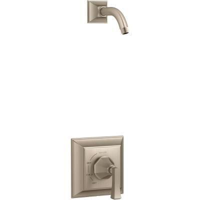 Kohler Memoirs Deco Lever 1 Handle Wall Mount Shower Trim Kit In