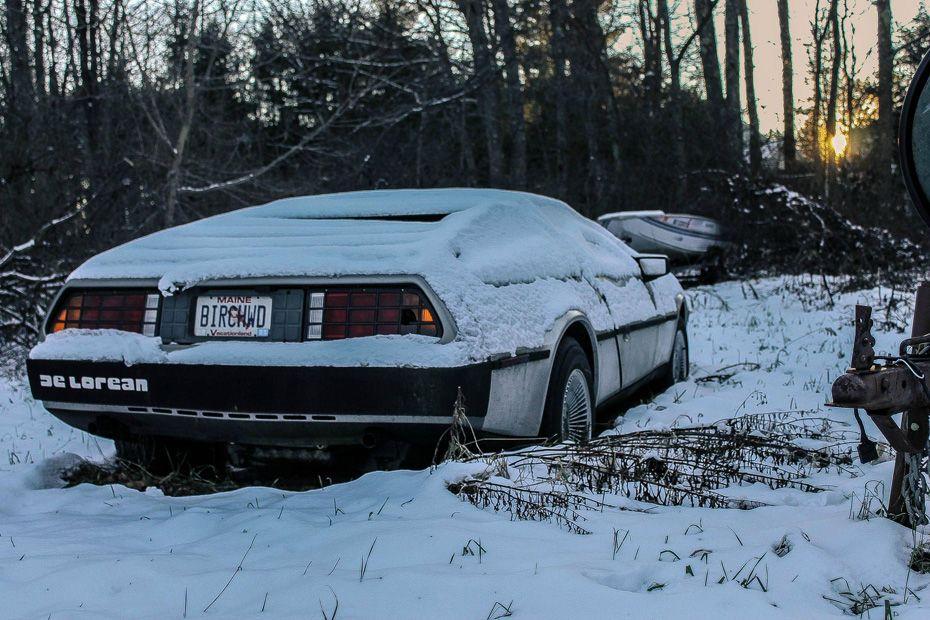 Abandonados Exoticos De Lorean Abandoned CarsBarn FindsExotic