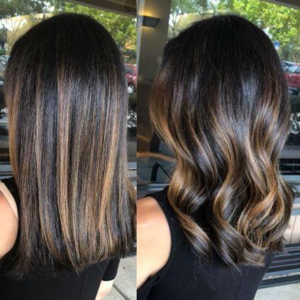 26 We Lovebayalage Brunette Long Straight Caramel Balayage 40 Balayage Hair Short Hair Balayage Balayage Straight Hair