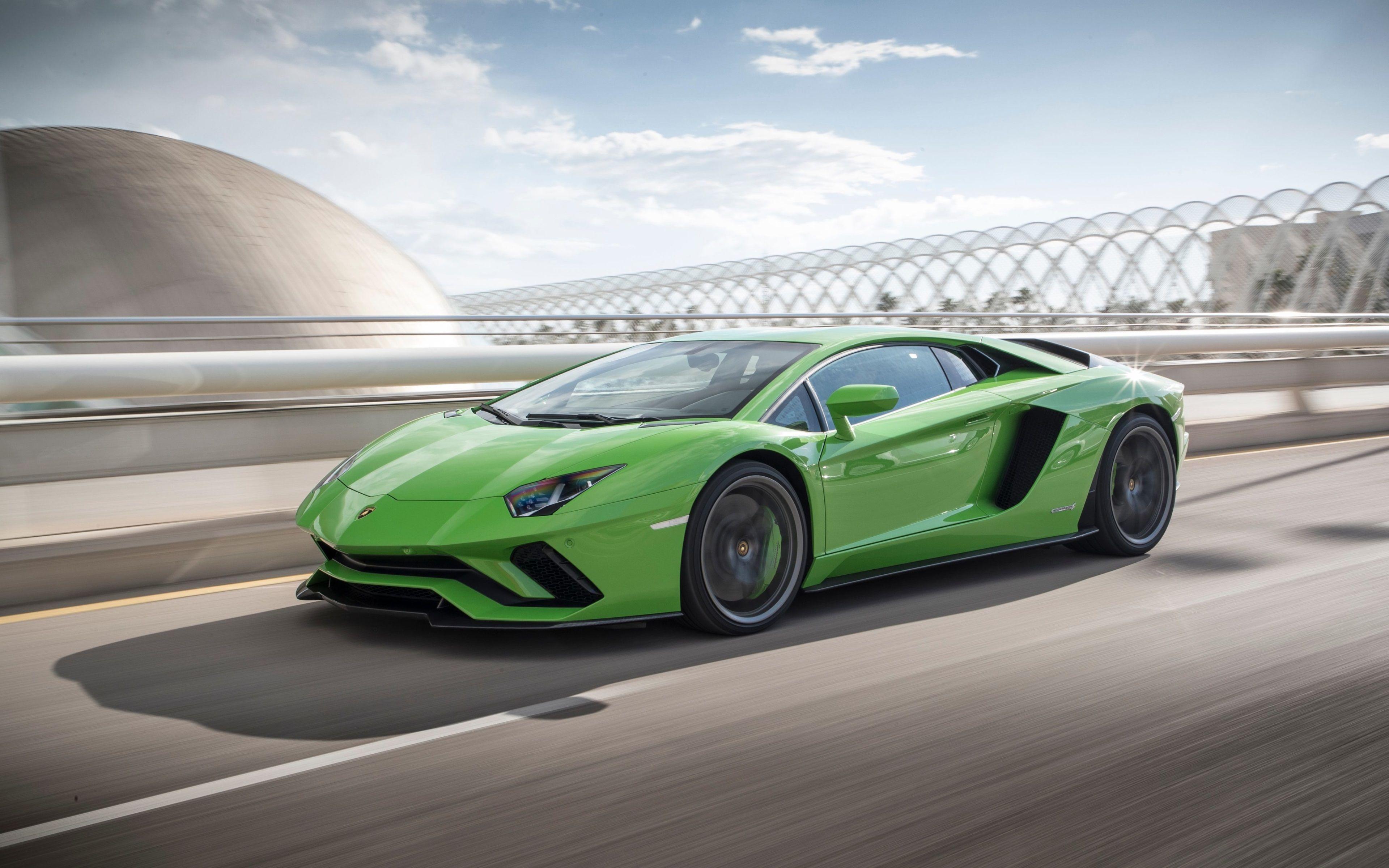 3840x2400 Lamborghini Aventador S 4k Coolest Wallpaper