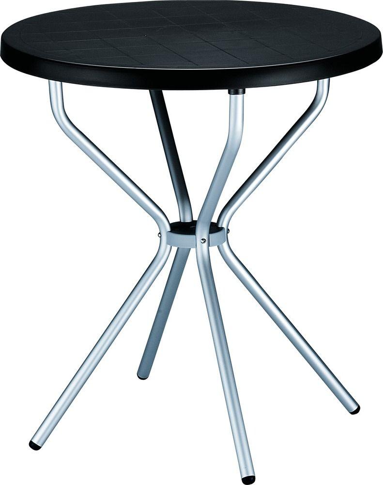 Balkon Bistro Tisch Elfo Rund O 70 Cm Esstisch Hohe 72 Cm