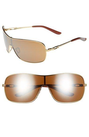 302e7f432c Oakley 'Distress' 150mm Polarized Shield Sunglasses available at #Nordstrom  Oakley, Kansas,