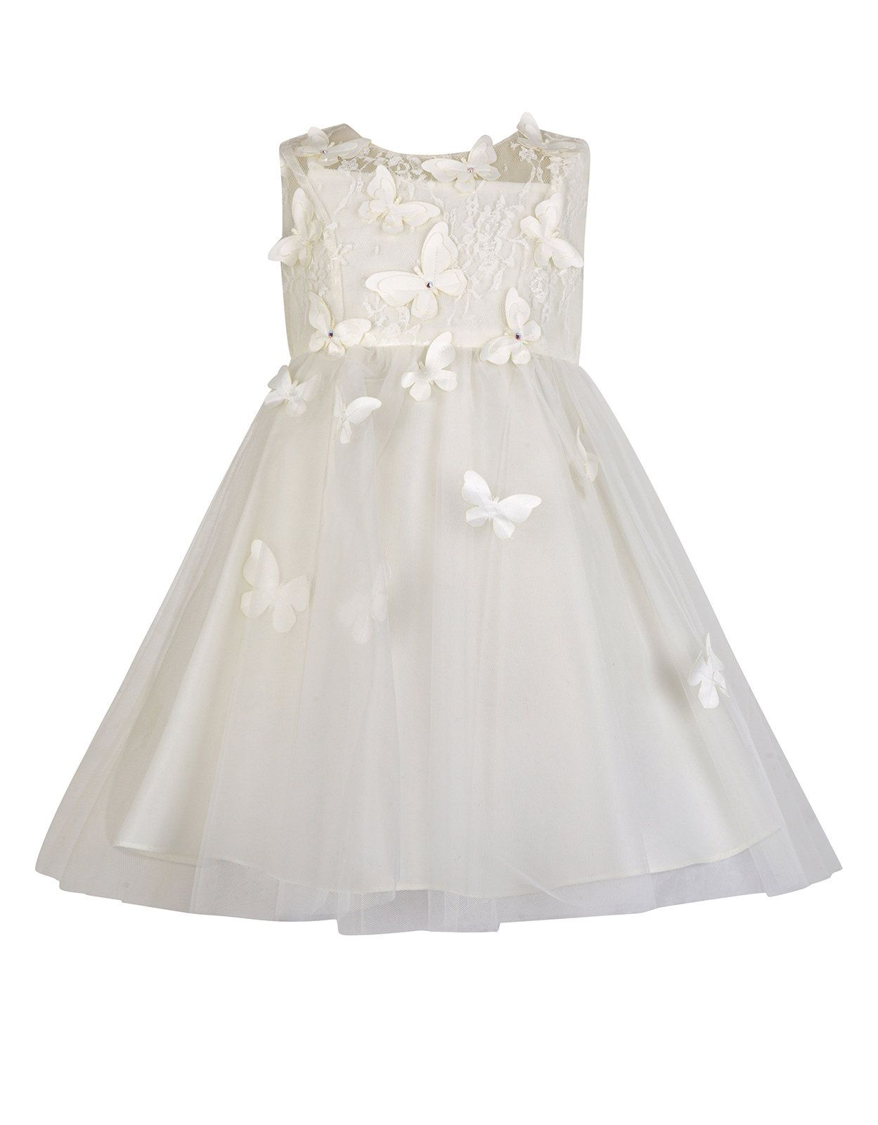 Baby Ruby Butterfly Dress | Ivory | Monsoon | christening ideas ...