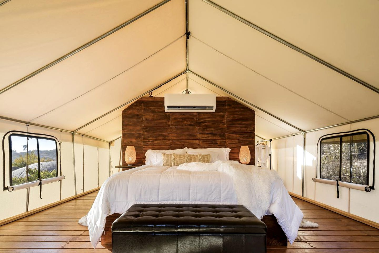 Luxury Safari Tent with Stunning Views for a Getaway near