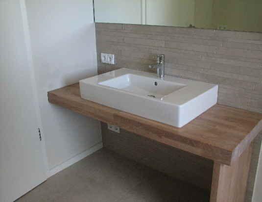 Waschtischunterschrank Holz Bad Inspirationen Pinterest