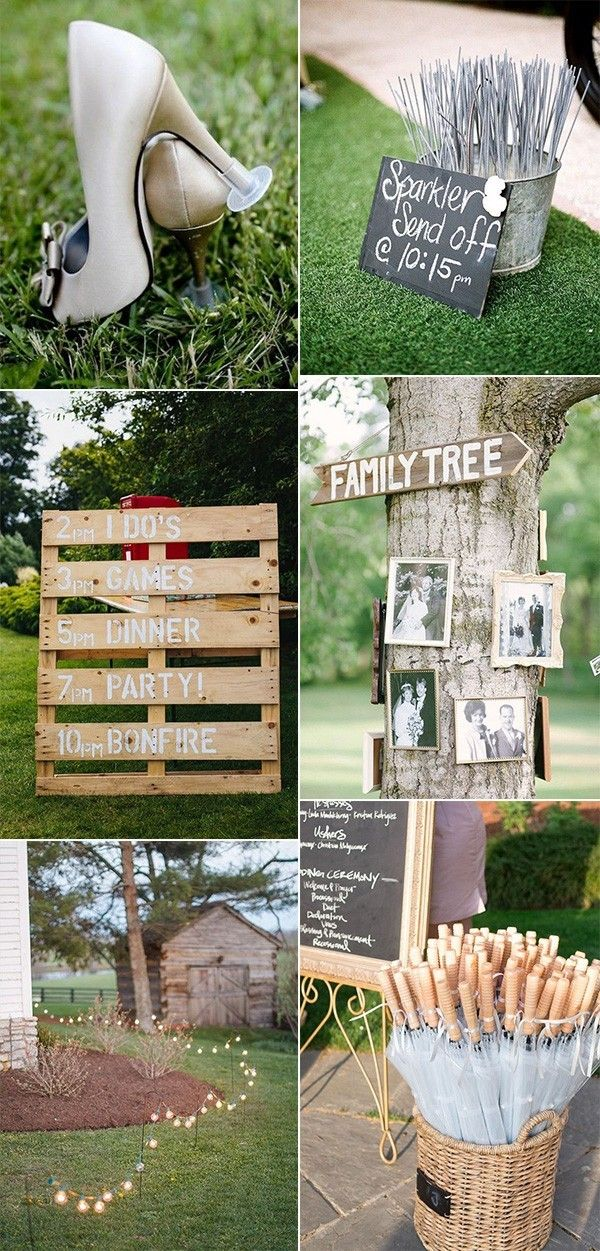 35 Brilliant Outdoor Wedding Decoration Ideas For 2018 Trends