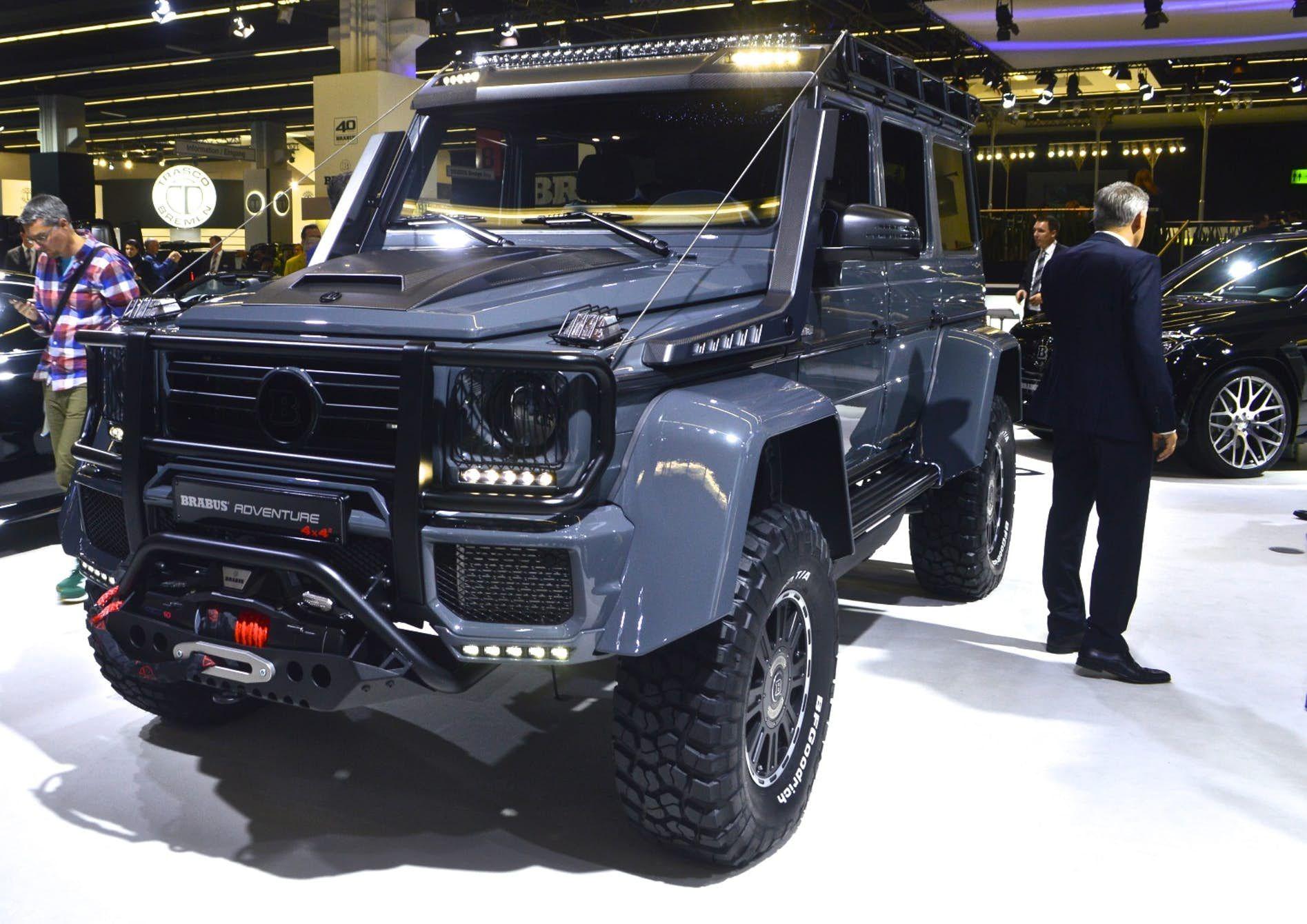 In Photos Trucks And Suvs Of The 2017 Frankfurt Motor Show