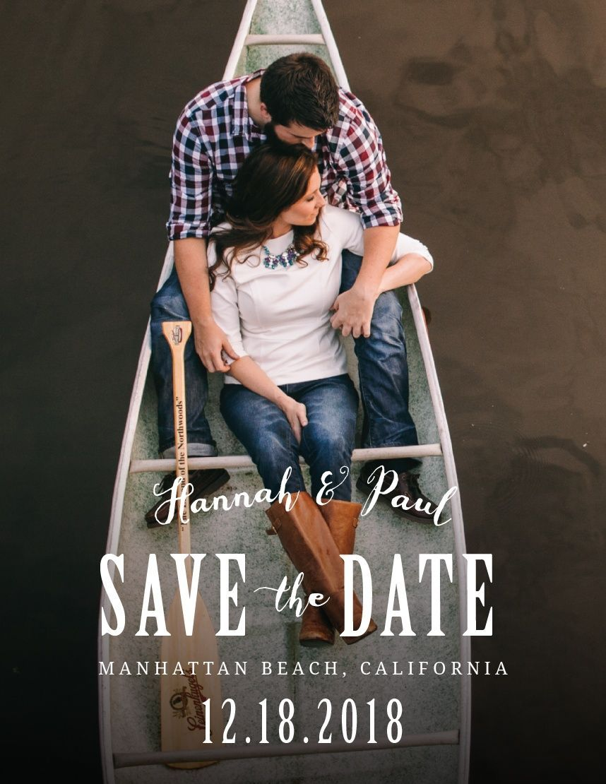 Anchors Aweigh Save-the-Date Cards
