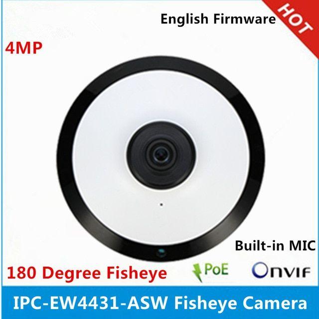 Dahua 4MP POE IPC-EW4431-ASW WIFI Fisheye IP Camera Smart Detection supported