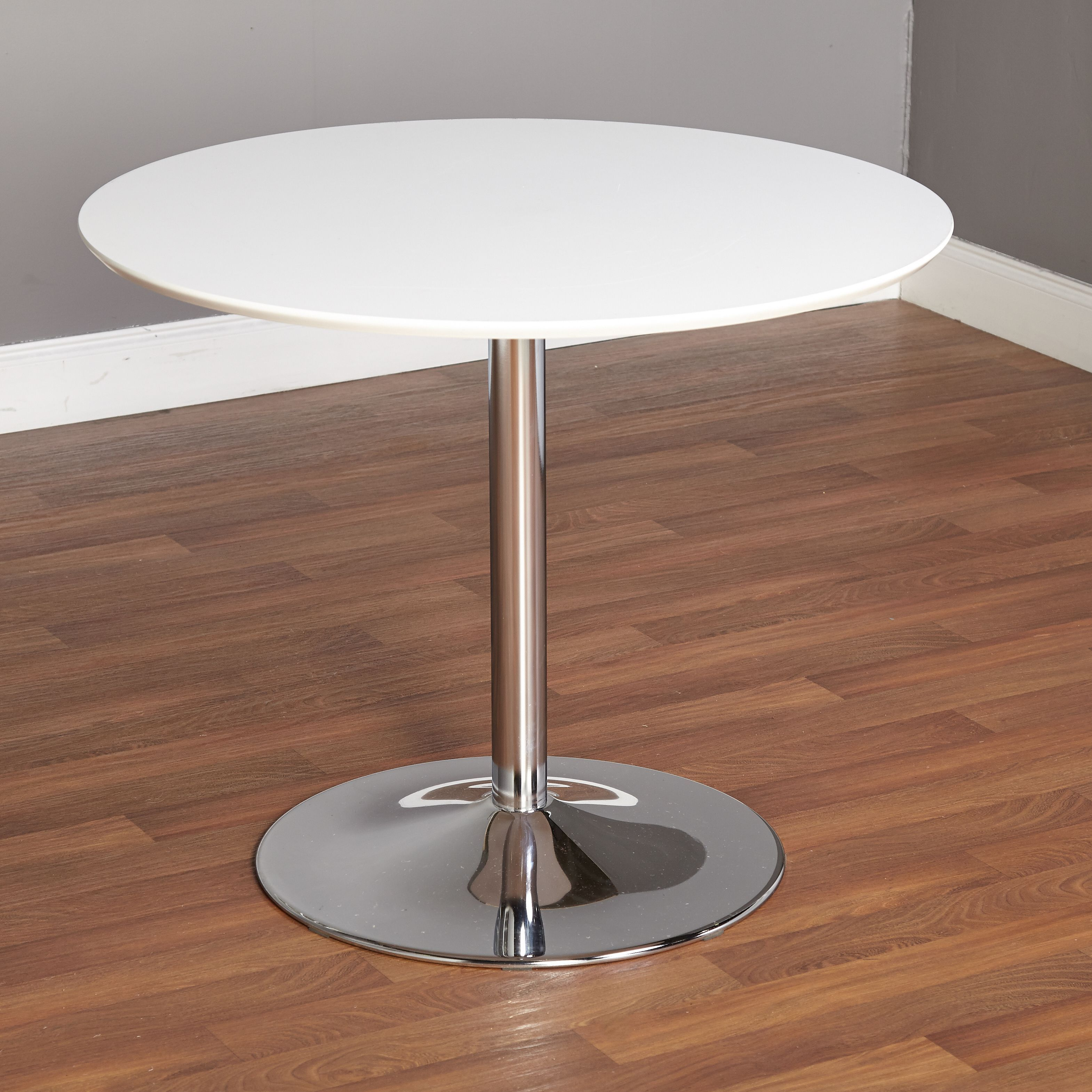 simple living pisa round dining table by simple living metals