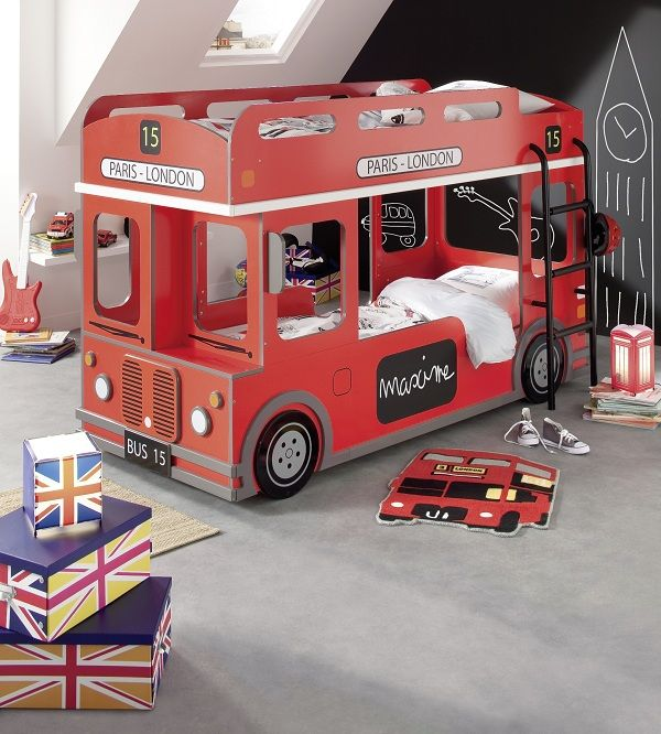 Double Decker Bus Kid Beds Bed Design Kids Double Bed