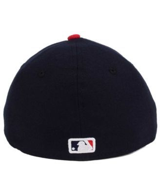 8240881c3f684f New Era Cleveland Indians Low Profile Ac Performance 59FIFTY Cap - Navy/Red  7 3/4