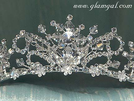 c03761055562fe Snowflake Tiara | snowflake theme wedding tiara; make something similar for  the costume