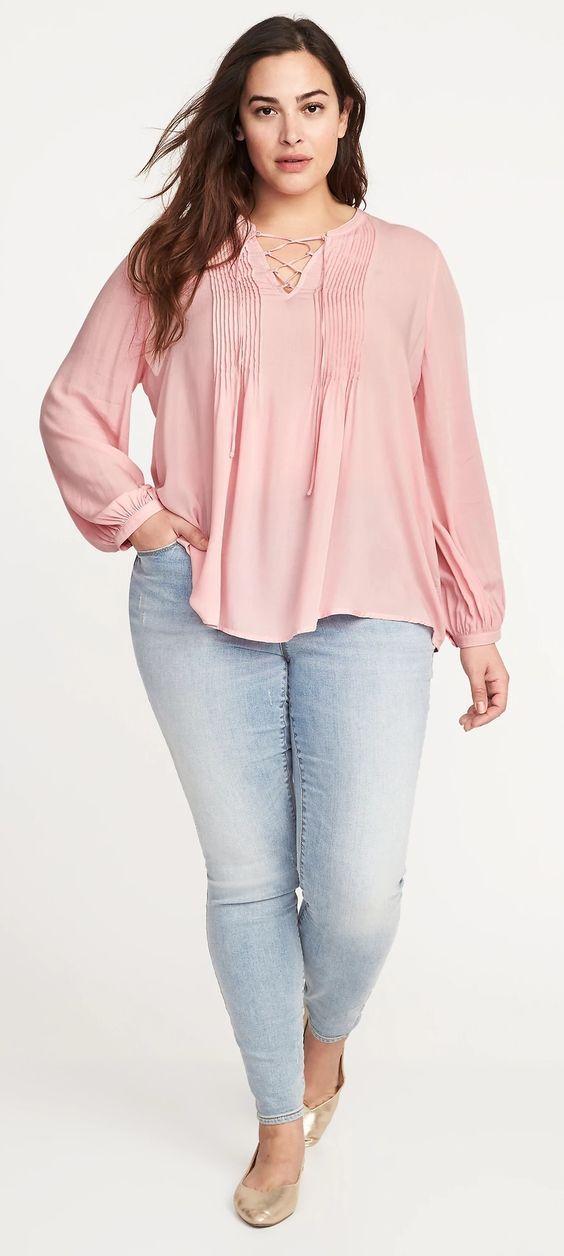 Tendencias En Blusas De Gorditas Blusas Para Gorditas Elegantes Blusas Para Gorditas Modernas Blusas Para Gordit Plus Size Outfits Plus Size Fashion Fashion