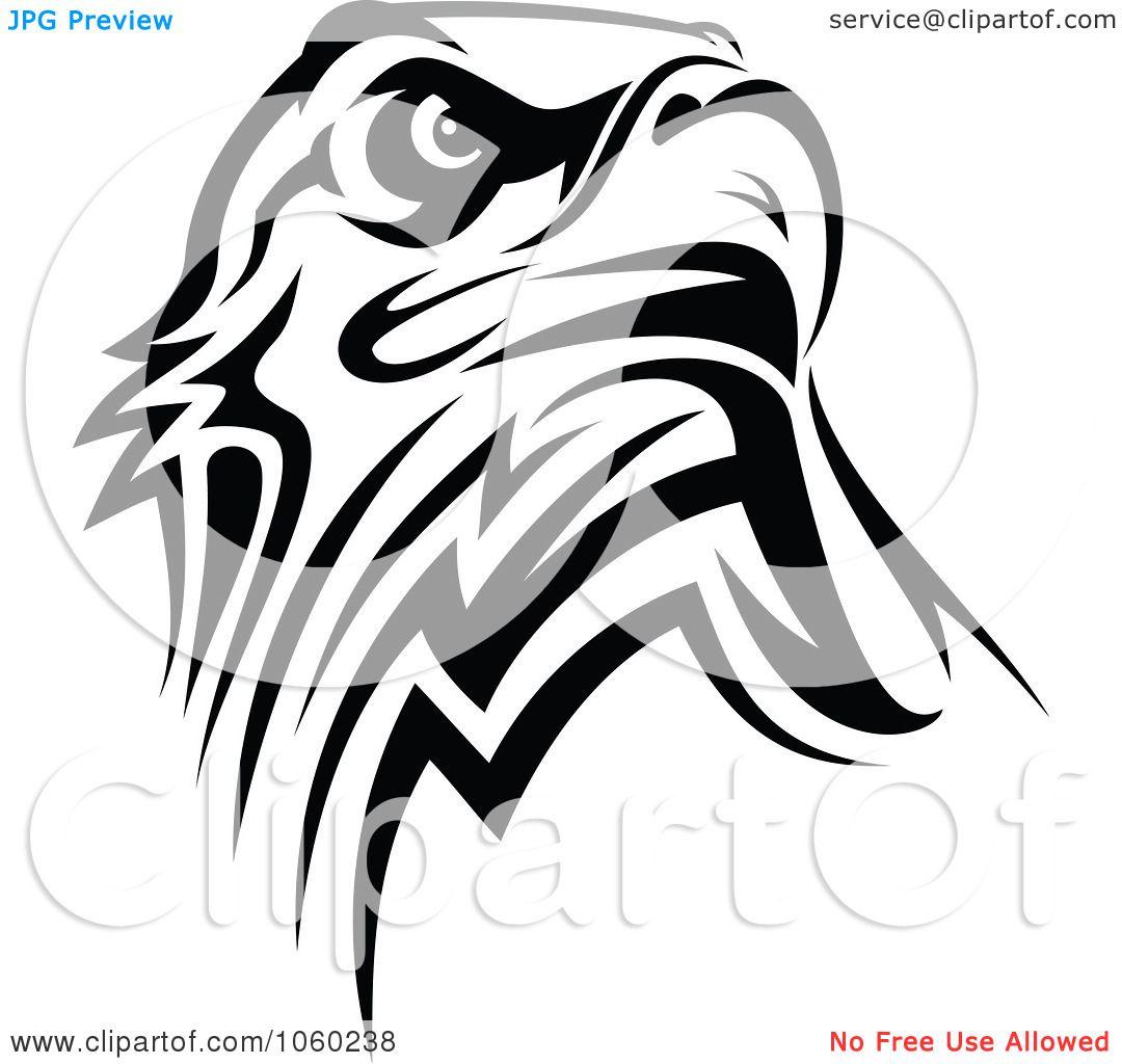 7c40de65a Illustration Of A Black And White Eagle Logo By Seamartini Graphics ...