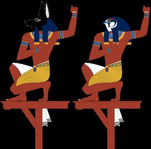 Själarna till Nechen och Pe   LundinOrient´s Egypten