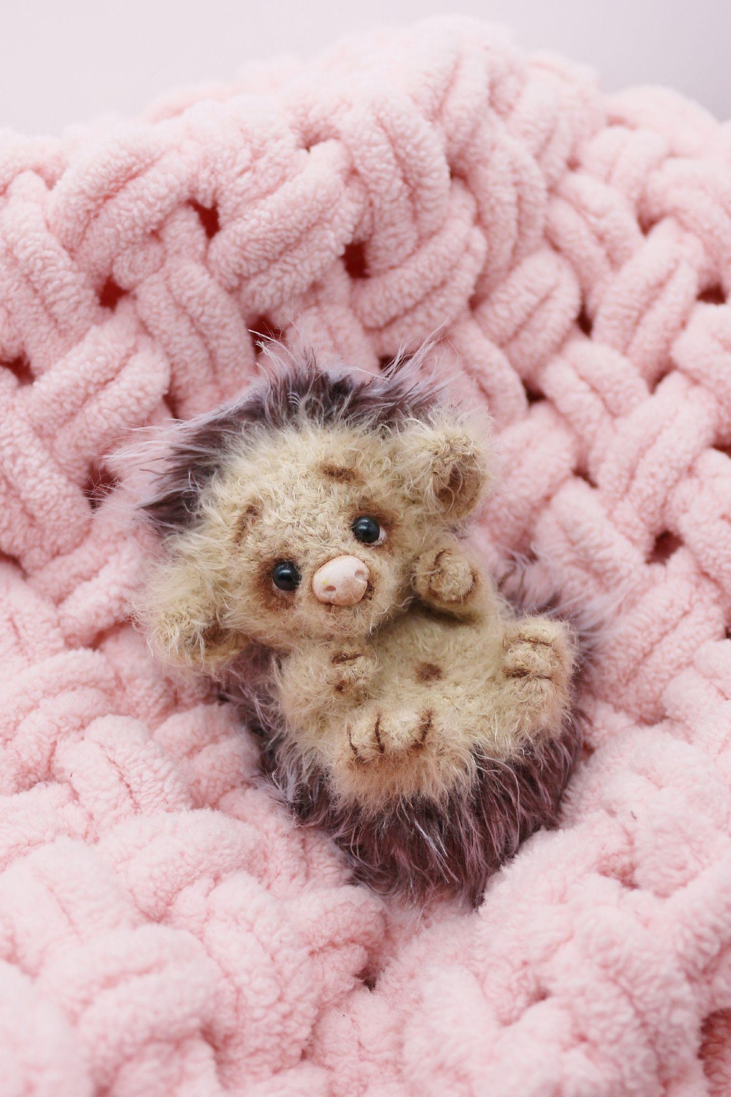 Miniature Hedgehog 3 Inches Amigurumi Animal Toy Interior Etsy Soft Toy Animals Crochet Hedgehog Hedgehog Animal [ 2250 x 1500 Pixel ]