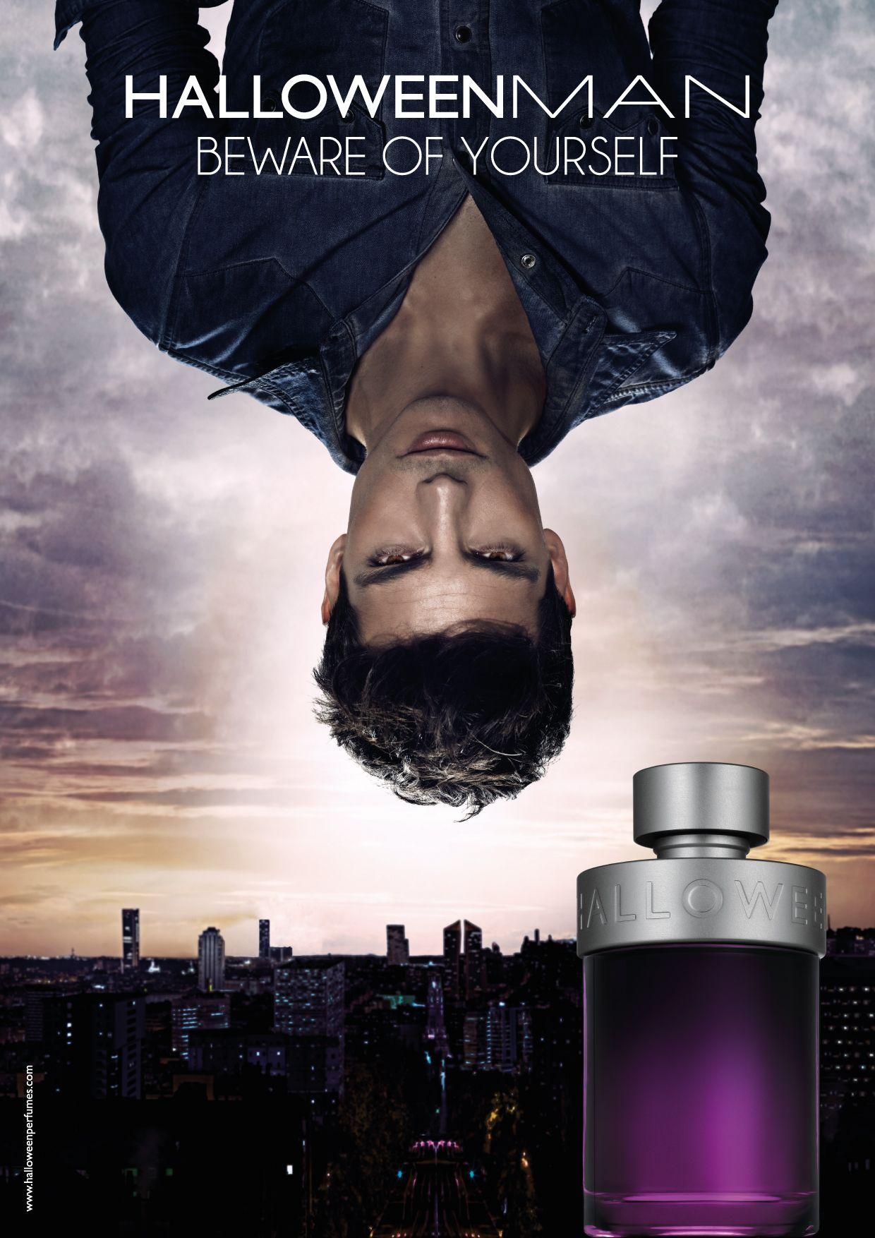 Beware of yourself. Halloween men, Perfume adverts