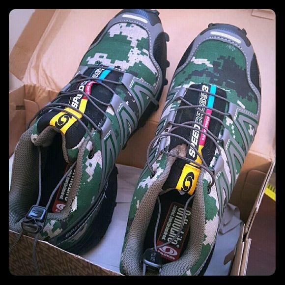 salomon speedcross 3 camouflage green army