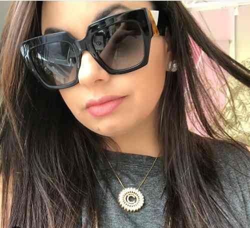 Óculos de Sol Fendi - Facets - FF 0263 S - Preto 91919a2e12