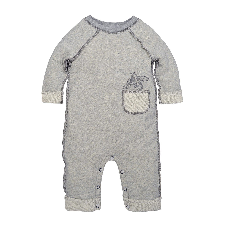 bbda3a9866f Amazon.com  Burt s Bees Baby Baby Boys  Organic One-Piece Romper Coverall   Clothing