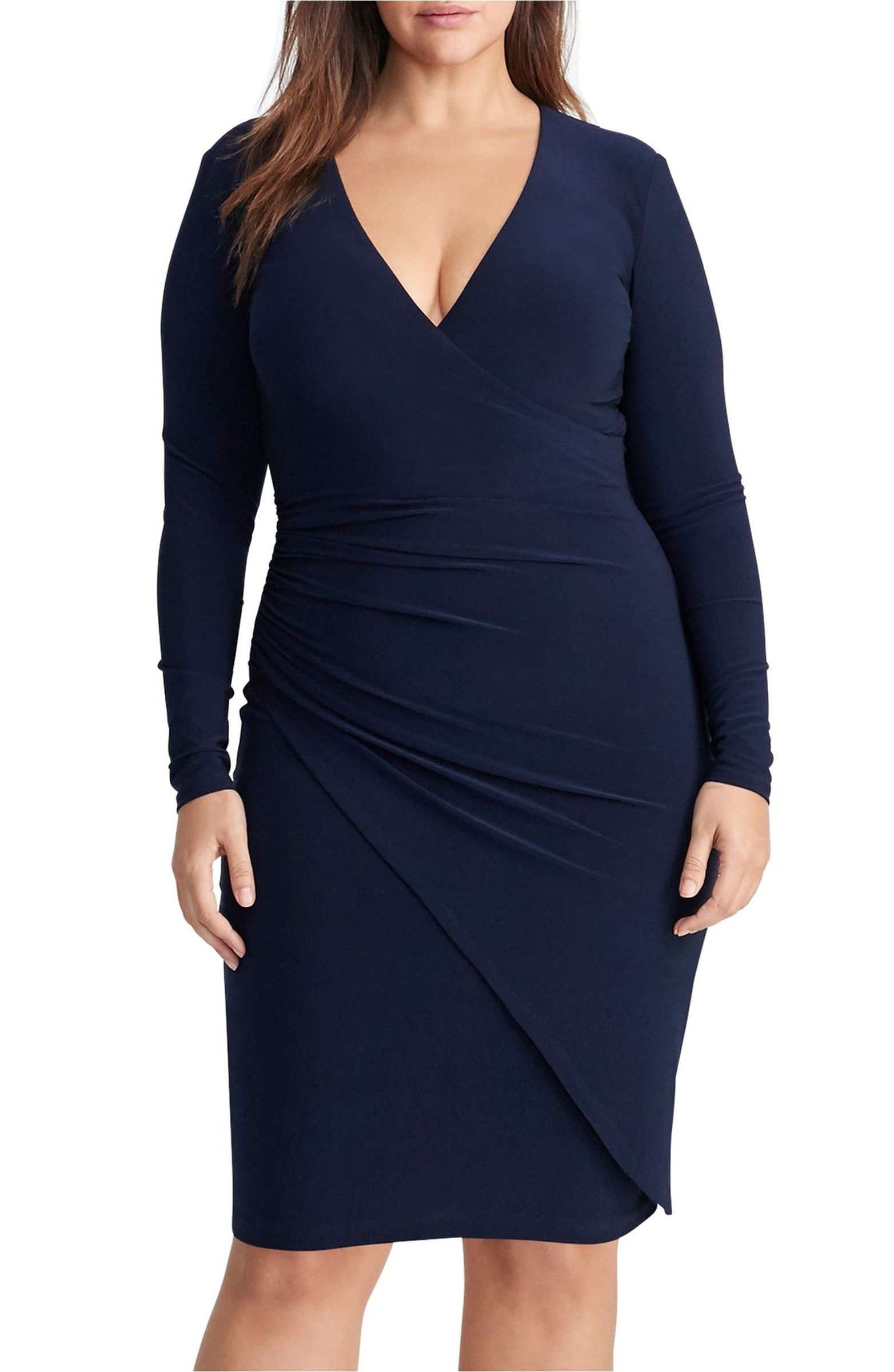 Ruched jersey faux wrap dress faux wrap dress marriage and wedding