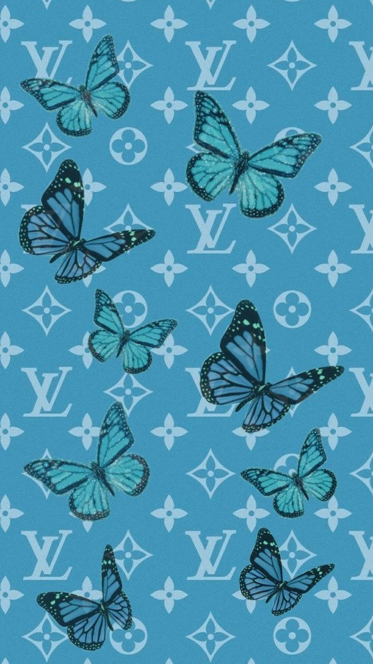 Pin By Kessia Mendonca On M Y P I N S Butterfly Wallpaper Iphone Cute Blue Wallpaper Butterfly Wallpaper