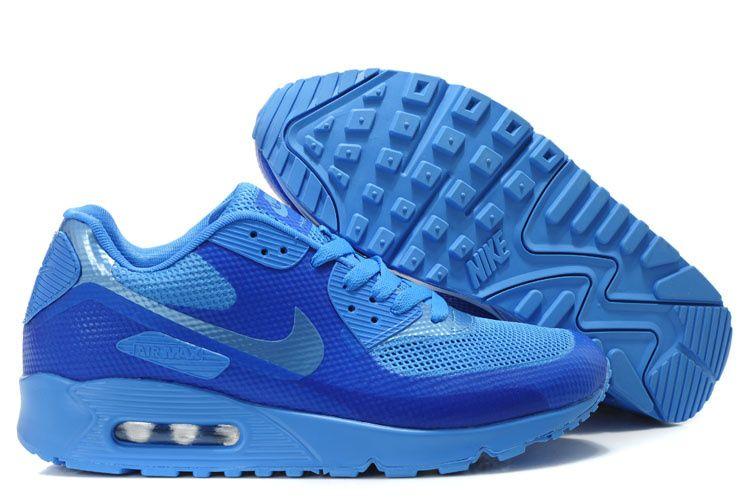 air max 90 blue hyperfuse