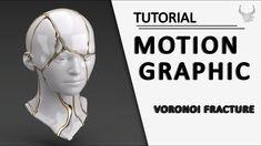 Motion Graphic Using Voronoi Fracture | Cinema 4D Tutorial