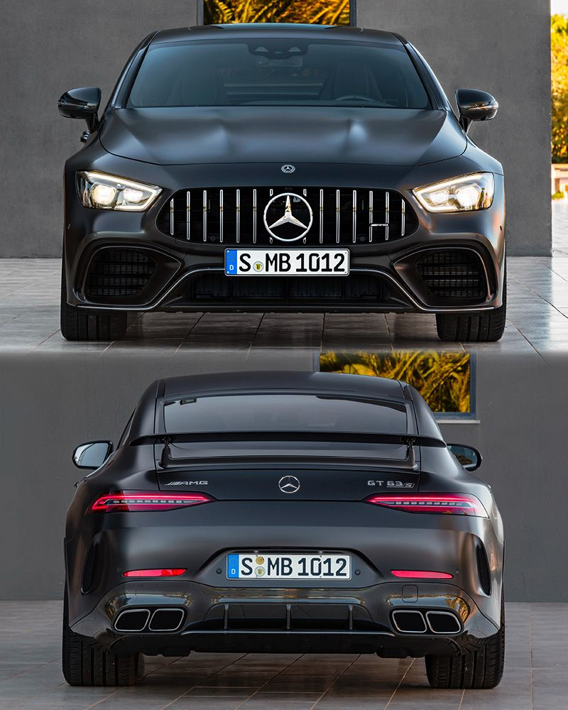 2019 Mercedes-AMG GT 63 S 4-Door Coupe 4Matic+