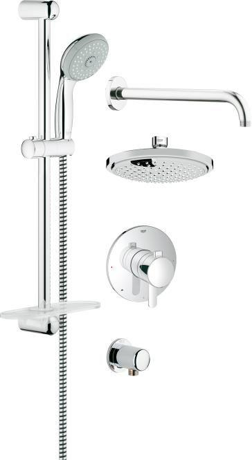 Grohflex Shower Set Shower Tub Shower Systems Shower Faucets