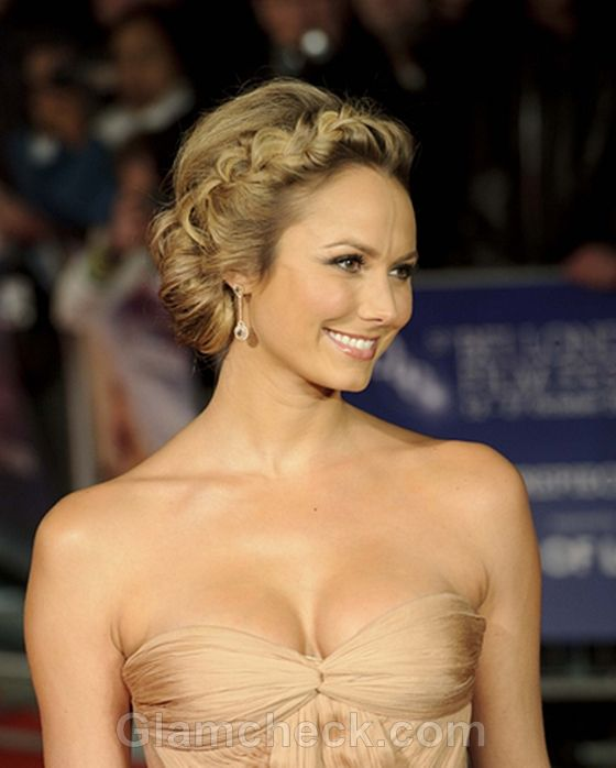 Stacy Keibler. Love the hair.