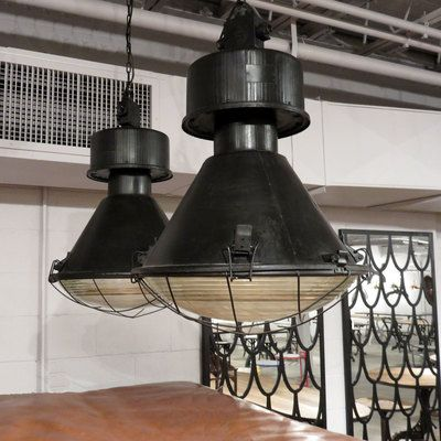 Vintage Warehouse Pendant Vintage Industrial Lighting Vintage