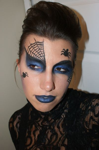 Spider Queen Black Widow Halloween Makeup (MissChievous ...