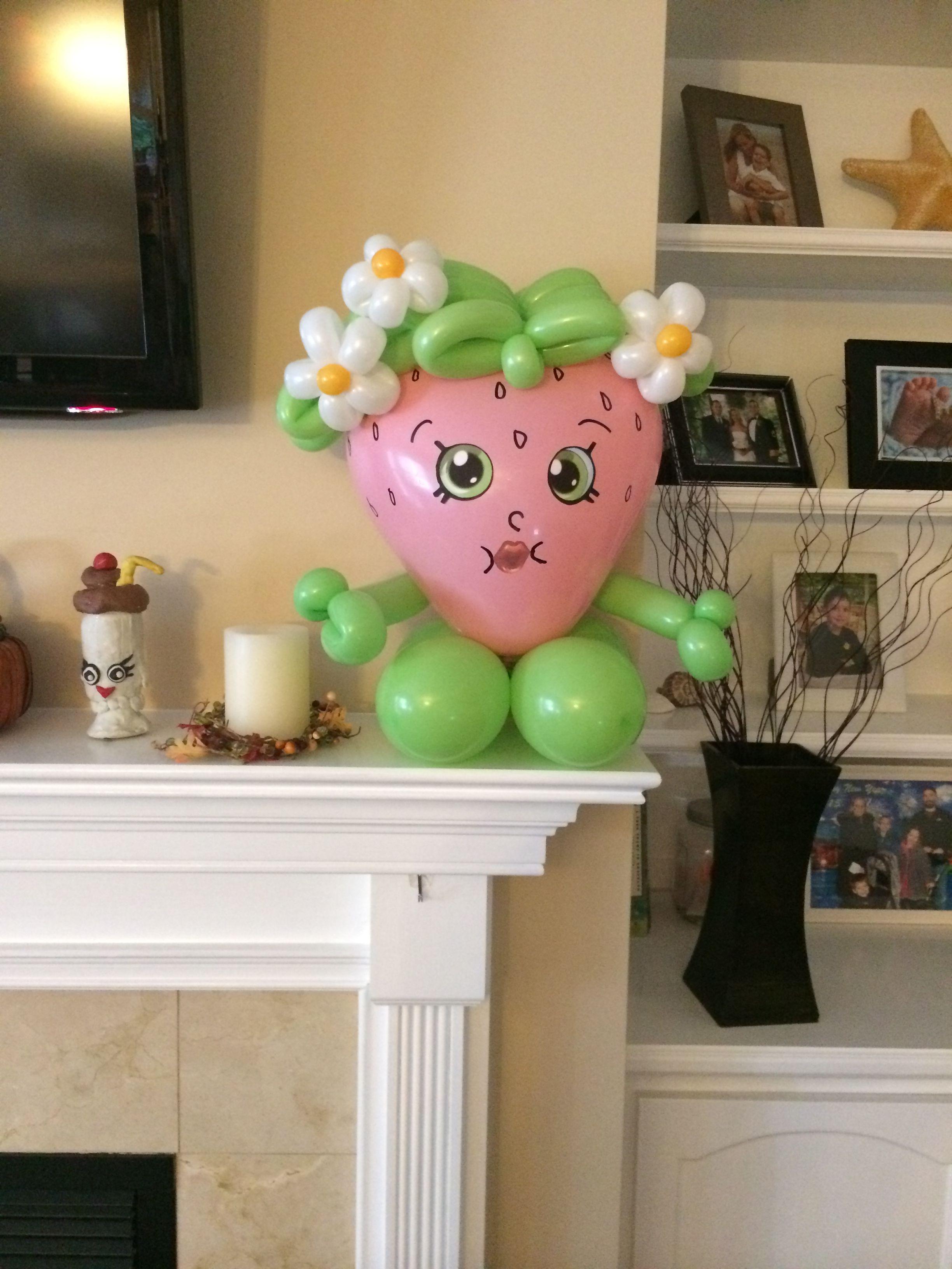 Crazy balloon animals - Shopkins Balloon Sculpture