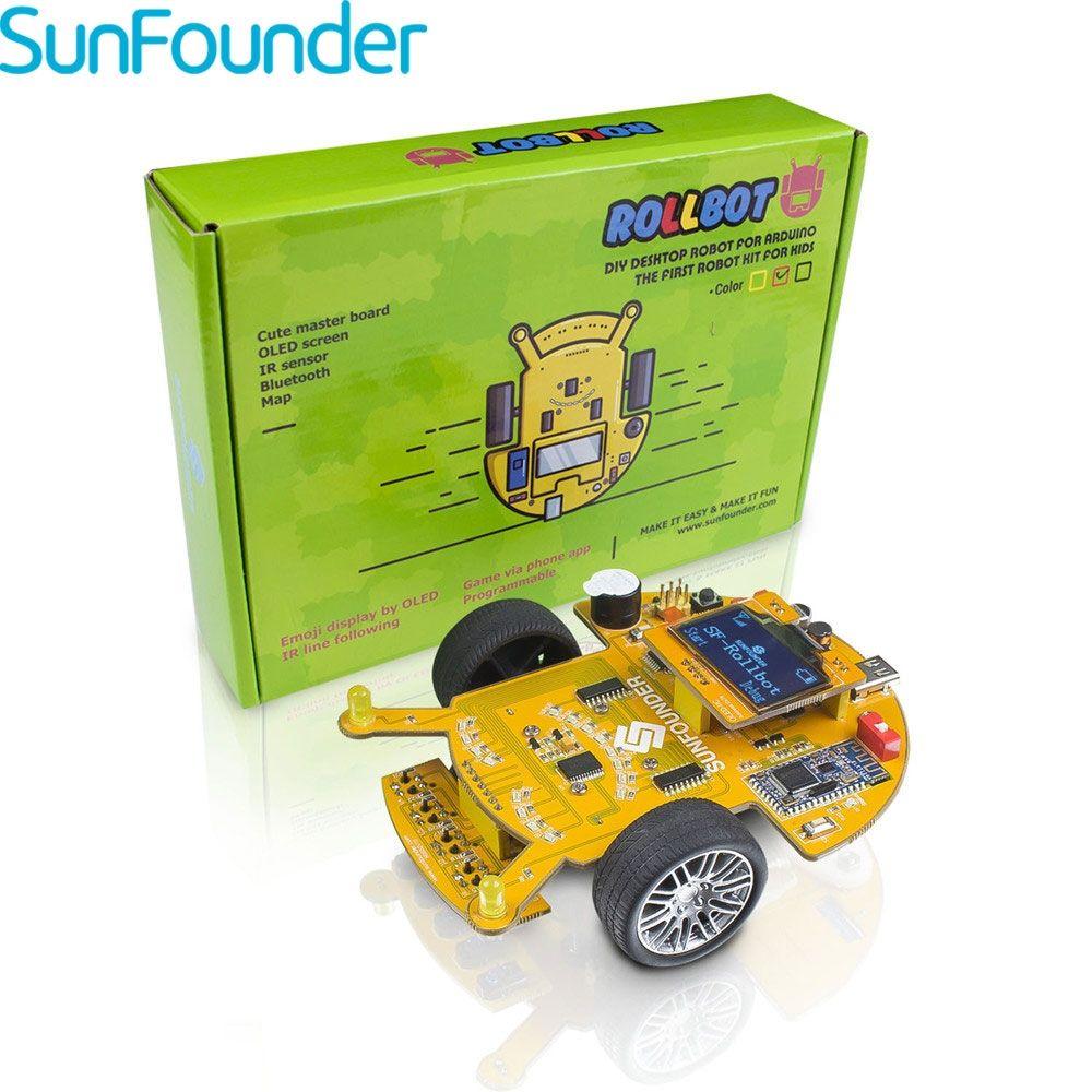SunFounder SFRollbot Programming Smart Car Kit with