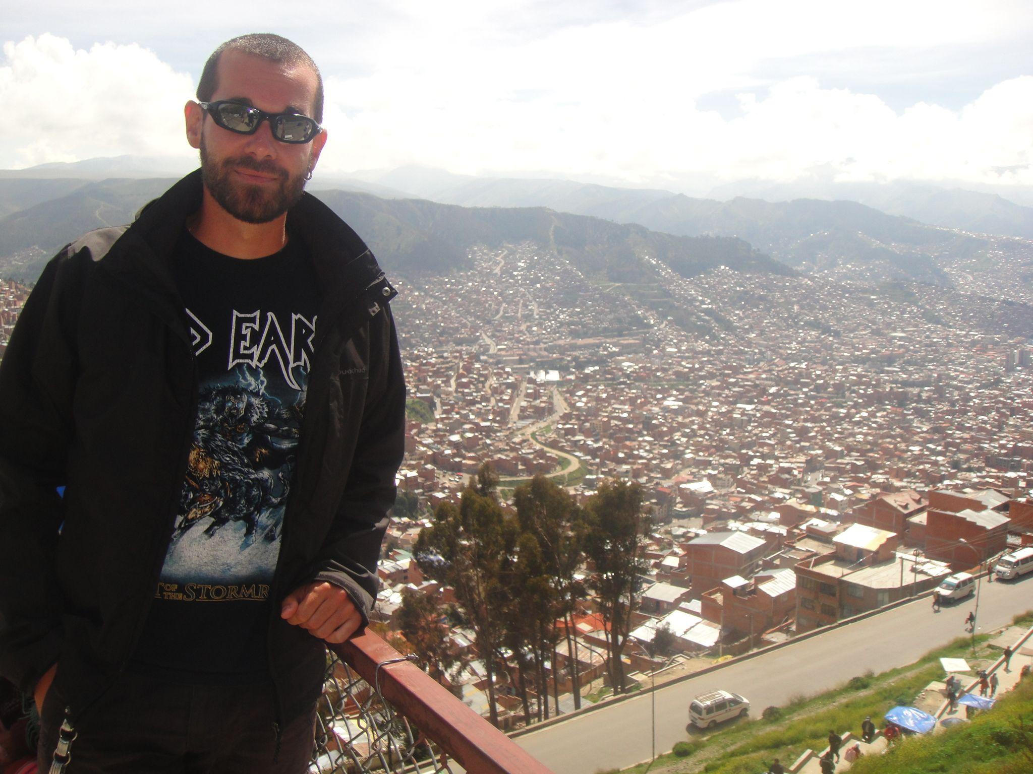 #LaPaz, la capital a más altura del mundo, es un contraste brutal con todo lo que has visto hasta ese momento. Mereció mucho la pena.