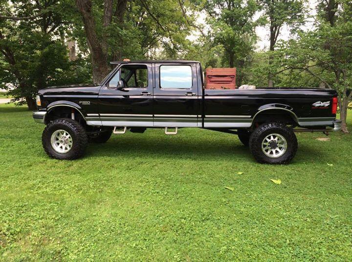 Man Truck F350 Crew Cab Long Bed Ford Pickup Trucks Lifted Ford Trucks Trucks