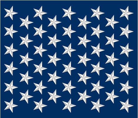 Distressed Patriotic Stars 50 Star Cheater Quilt Panel Fabric Spoonflower Custom Fabric Star Template Star Stencil Patriotic Stars