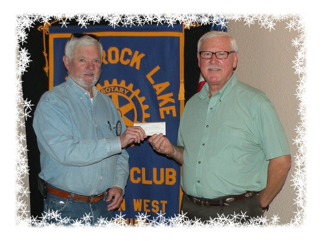 Rotary donates to local food pantry