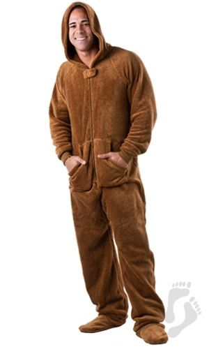One Piece Adult Footed Pajamas | Footed Pajamas | C needs ...