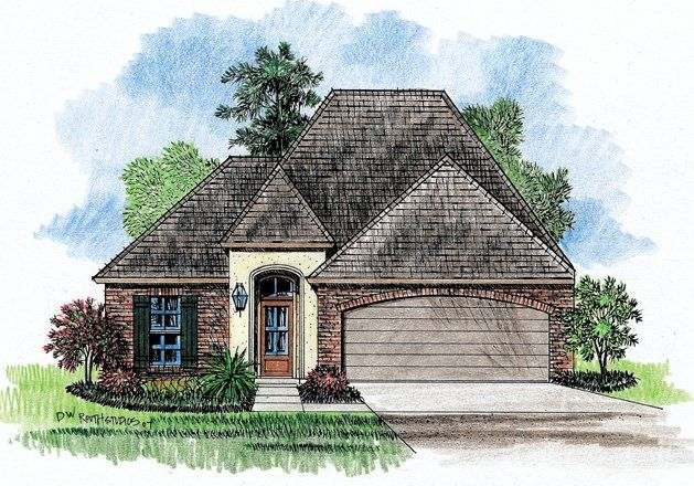 Ritz Zero Lot House Plans Country French Home Plans Country House Plans House Plans French House Plans