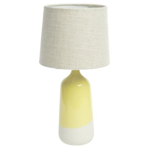Palma ceramic dip glaze table lamp yellow bed room mood buy palma ceramic dip glaze table lamp yellow from our table desk bedside lamps range at tesco direct mozeypictures Gallery