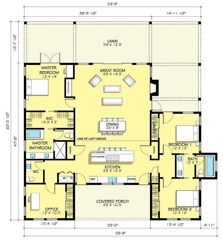 Plano de casa de lujo de 200 metros cuadrados for Casa vivienda jardin pdf