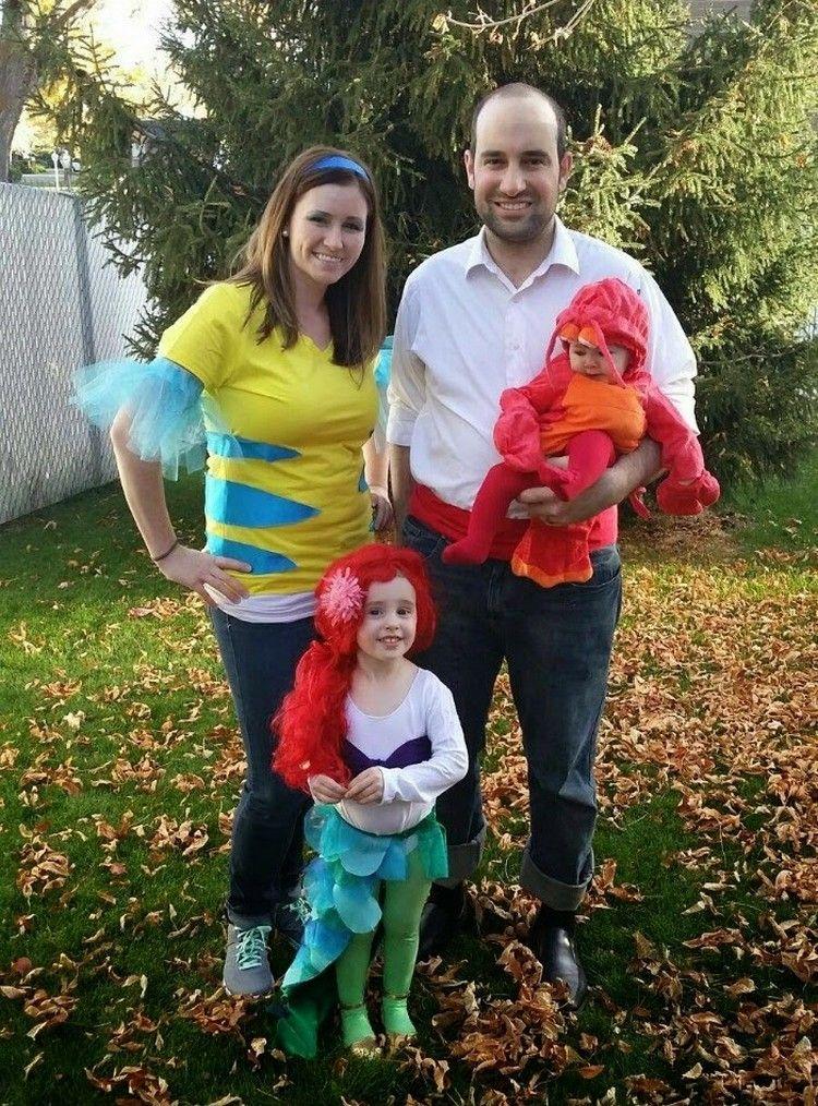 Fasching ideen karneval kost me familie arielle freunde halloween party ideas pinterest - Ideen karneval ...