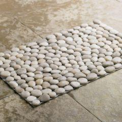 Black River Stone Mat Eclectic Bath Mats Vivaterra For Beach Inspired Bathroom