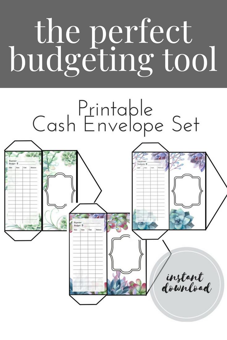 PRINTABLE Cash Envelopes, Budget Envelopes, Cash Envelope Download ...