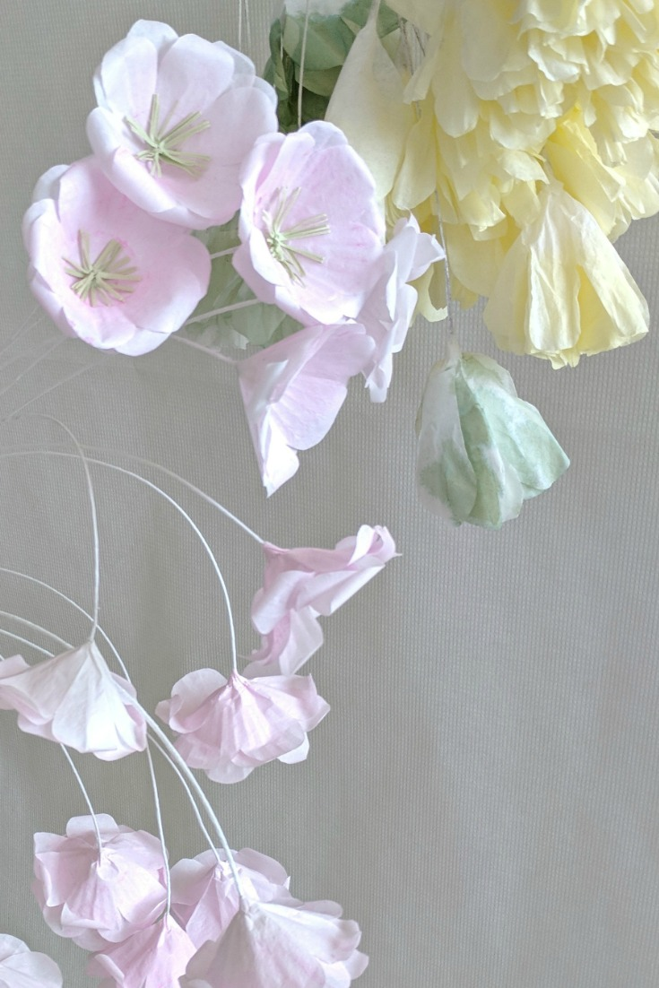 Paper Flowers DIY Easy Make it simple decorating doesnut have to